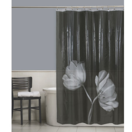 Maytex Tulip PEVA Shower Curtain