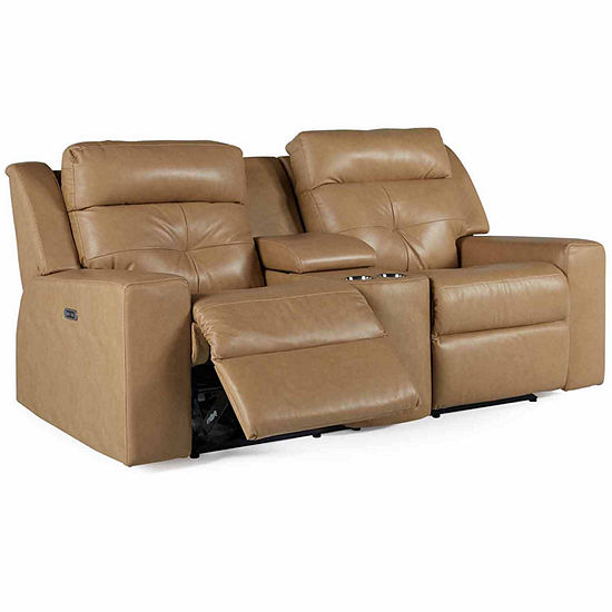 Motion Possibilities Grove Loveseat with Console