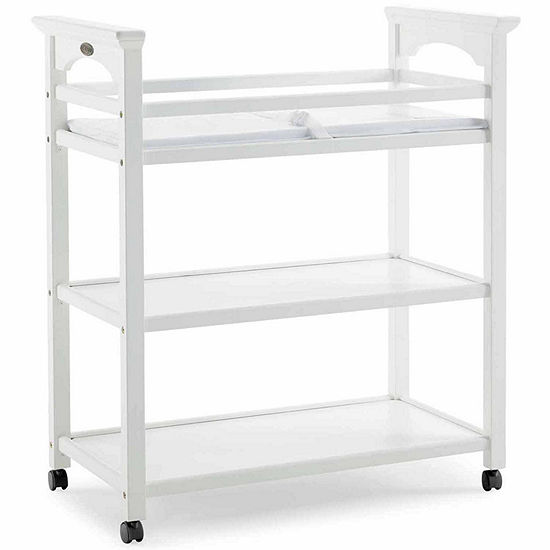 Graco 2-Shelf Changing Table - White