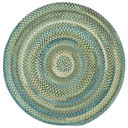 Capel Inc. Round Rugs, One Size , Green at RugsBySize.com