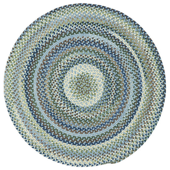 Capel Inc. Manchester Concentric Braided Round Rugs