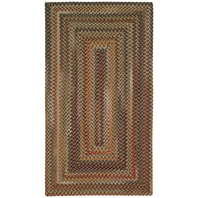 Capel Inc. Manchester Concentric Braided Rectangular Rugs