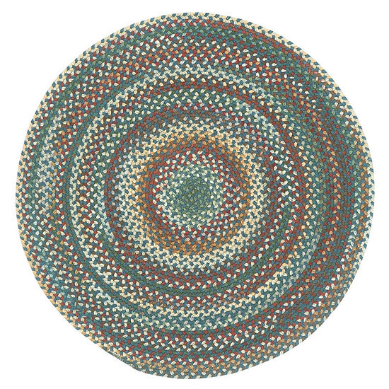 Capel Inc. Sherwood Forest Concentric Braided Round Rugs