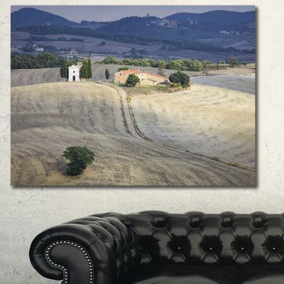Designart Beautiful Sandy Landscape Landscape Canvas Art Print