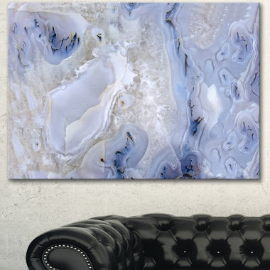 Design art Agate Stone Background Abstract Canvas Wall Art Print