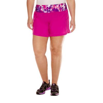 Xersion Tie Dye Running Shorts Plus