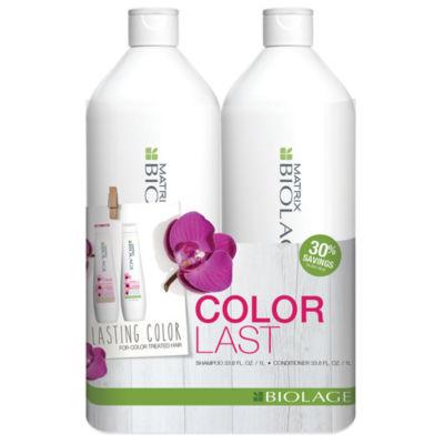 Matrix Biolage Colorlast Liter Duo 2-pack Gift Set