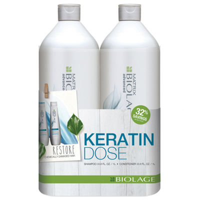 Matrix Biolage Keratindose Liter Duo 2-pack Gift Set