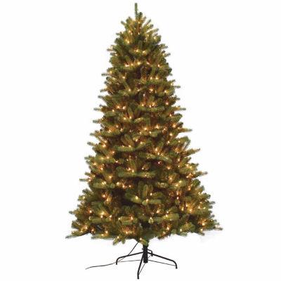 7 1/2 Foot Pre-Lit Christmas Tree