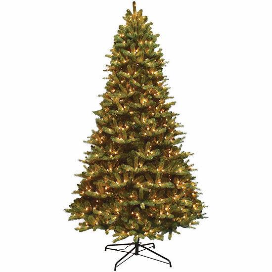 9 Foot Fir Pre Lit Christmas Tree