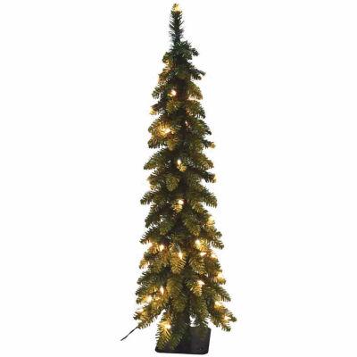 5 Foot Spruce Pre-Lit Christmas Tree
