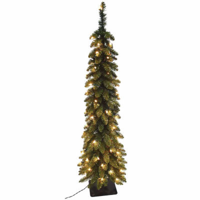 Slim Corner Christmas Tree
