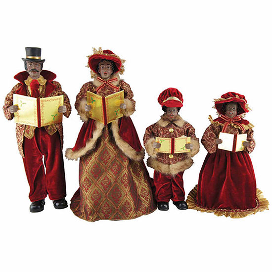 Carolers Tabletop Decor