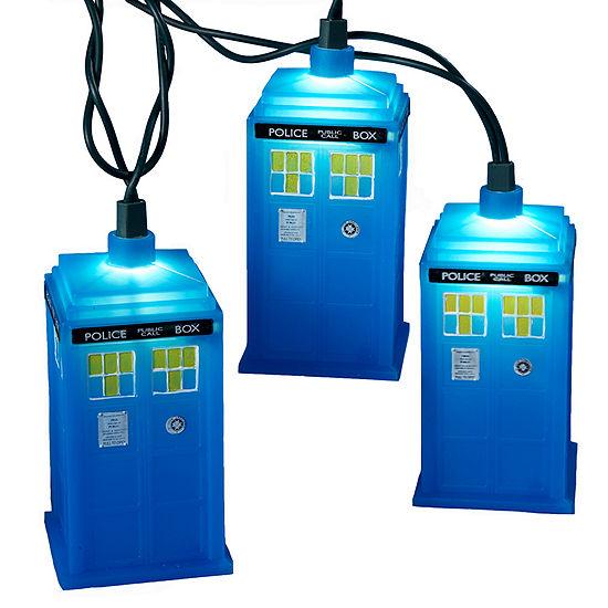 Kurt Adler Doctor Who™ Blue Tardis Light Set