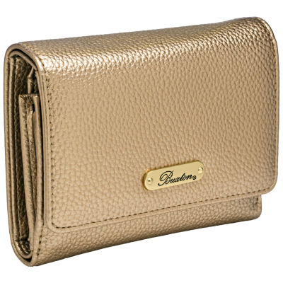 Buxton Pebble Organizer Clutch Wallet