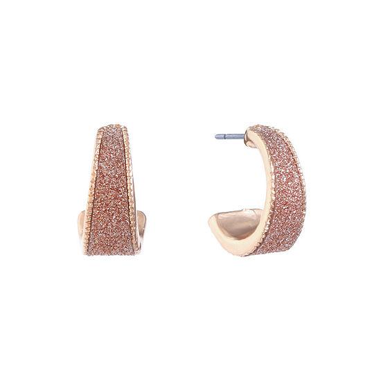Monet Jewelry 18mm Hoop Earrings