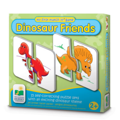 The Learning Journey My First Match It - Dinosaurs