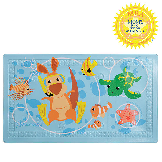 """Dreambaby® Watch-Your-Step® Anti-Step Bath Mat with """"Too Hot"""" Indicator"""