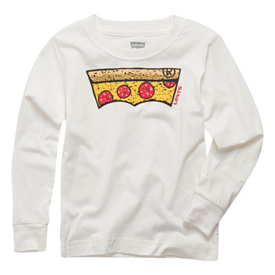 Levi's Long Sleeve Graphic T-Shirt - Toddler Boy