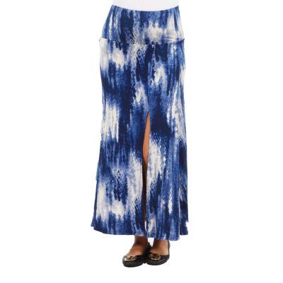 24/7 Comfort Apparel Blue Angel Maternity Skirt