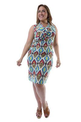 24/7 Comfort Apparel April Avenues Maternity Dress - Plus