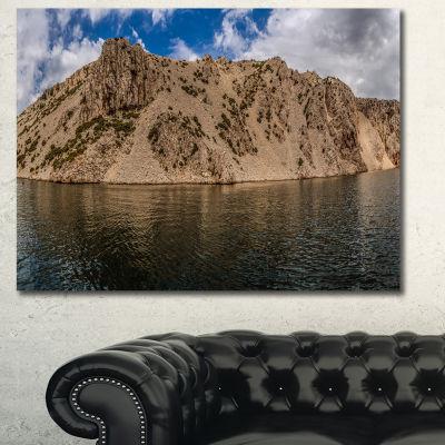 Designart Zrmanja River Northern Dalmatia Landscape Wall Art Canvas