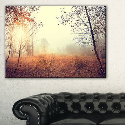 Design Art Beautiful Natural Landscape With Trees Wall Art Landscape