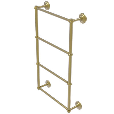 Allied Brass Que New Collection 4 Tier 30 Inch Ladder Towel Bar With Twisted Detail
