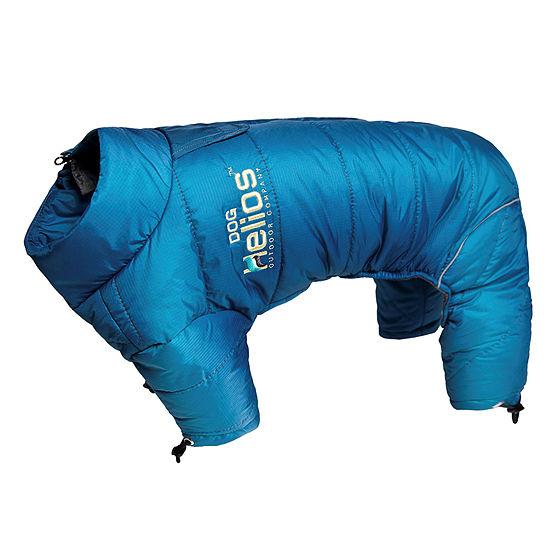 The Pet Life Helios Thunder-crackle Full-Body Waded-Plush Adjustable and 3M Reflective Dog Jacket
