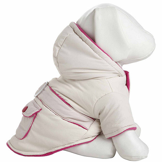 The Pet Life Double-Toned Jewel Pet Jacket