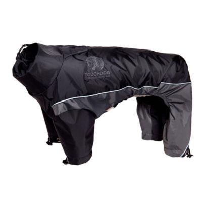 The Pet Life Touchdog Quantum-Ice Full-Bodied Adjustable and 3M Reflective Dog Jacket w/ BlacksharkTechnology