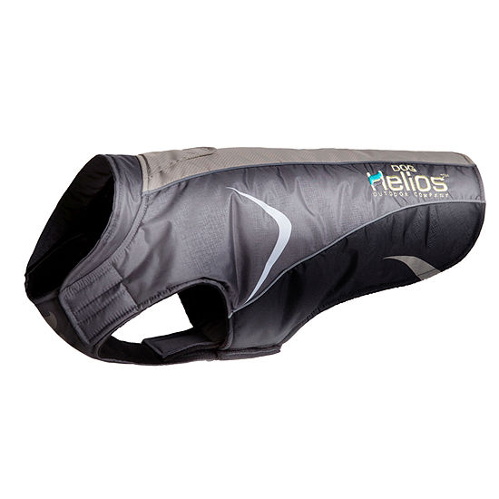 The Pet Life Helios Altitude-Mountaineer Wrap-Hook and Loop Protective Waterproof Dog Coat w/ Blackshark technology