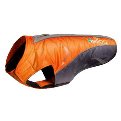 The Pet Life Helios Altitude-Mountaineer Wrap-Velcro Protective Waterproof Dog Coat W/ Blackshark technology