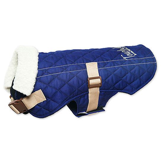 The Pet Life Touchdog Original Sherpa-Bark Designer Fashion-Forward Dog Coat