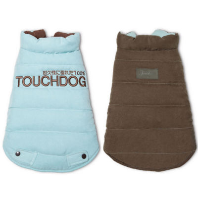 The Pet Life Touchdog Waggin Swag Reversible Insulated Pet Coat