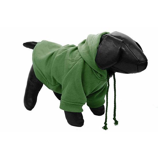 The Pet Life Fashion Plush Cotton Pet Hoodie Hooded Sweater