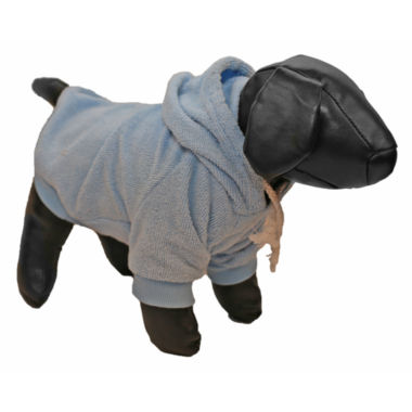The Pet Life French Terry Pet Hoodie Hooded Sweater