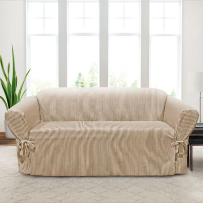 Monroe 1-Piece Relaxed Fit Sofa Slipcover