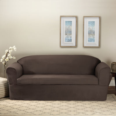 Bayview 2 Piece Wrap Style Sofa Slipcover