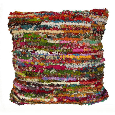 Motley Chindi Striped Throw Pillow