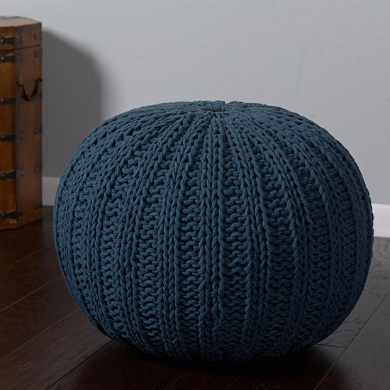 great your or ottoman pin to chunky pouf bedroom living addition knit