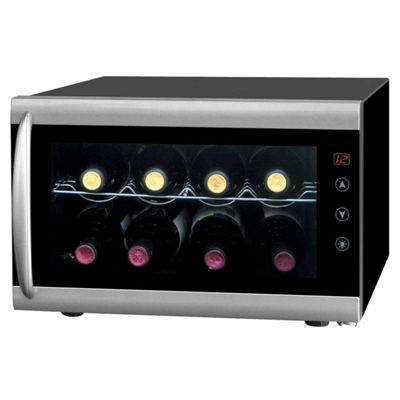 SPT WC-0802H: Thermo-Electric Wine Cooler with Heating 8-bottles