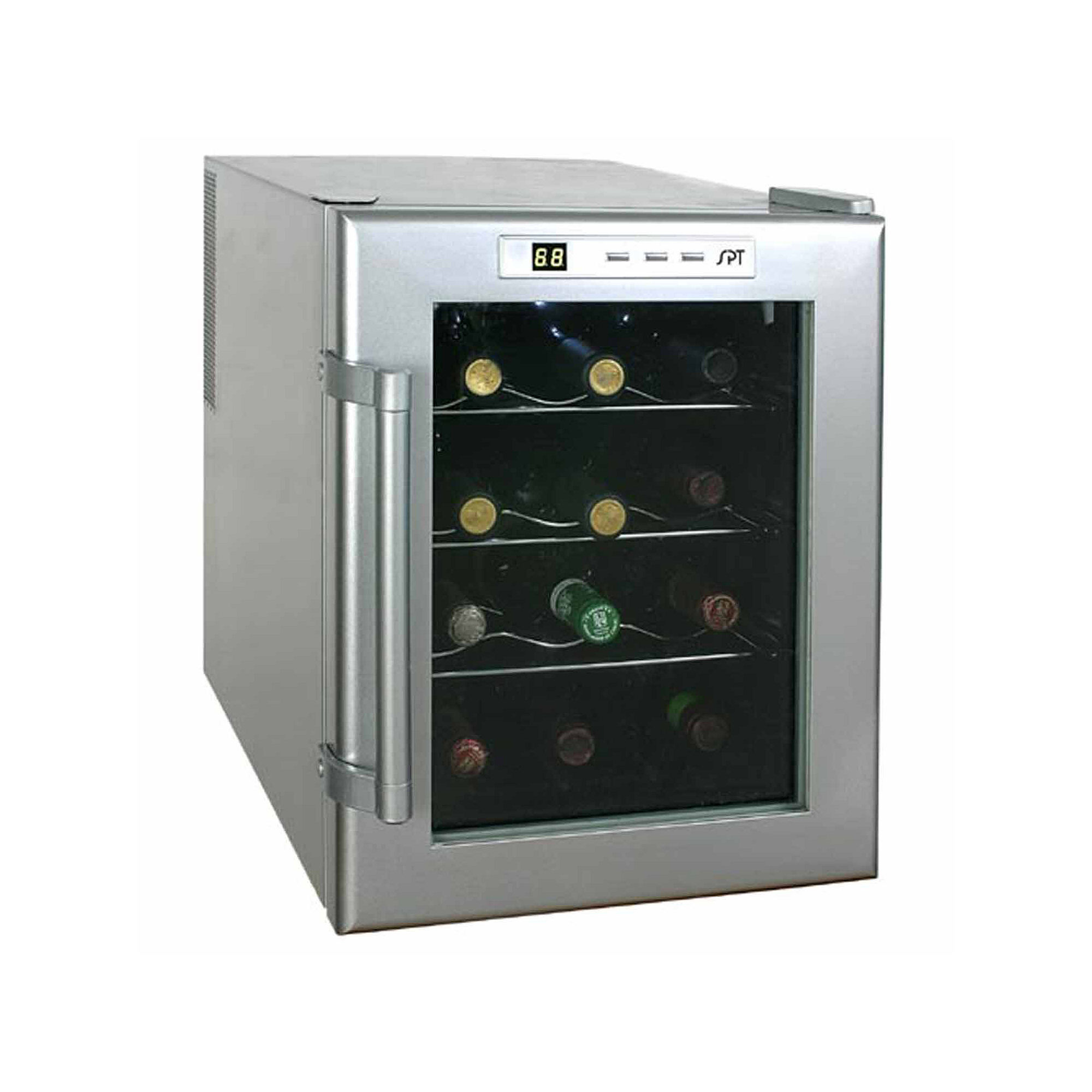 SPT WC-12: ThermoElectric Wine Cooler 12-Bottles
