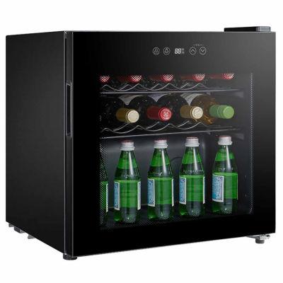 SPT WC-1686C: Single Zone Compressor Wine Cooler 16-bottles