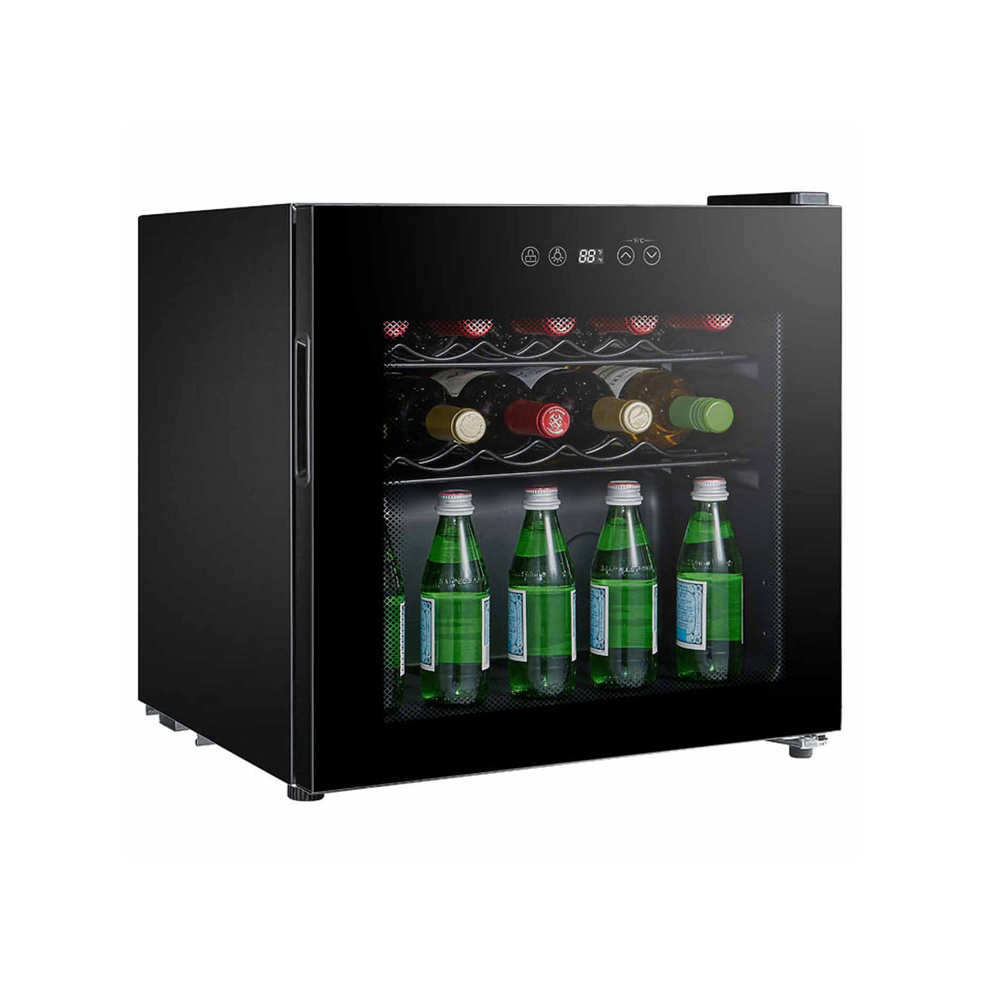 SPT WC-1686C: Single Zone Compressor Wine Cooler 16-bottles