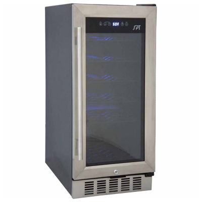 SPT WC-31U: Under-Counter Wine & Beverage Cooler 32-bottles