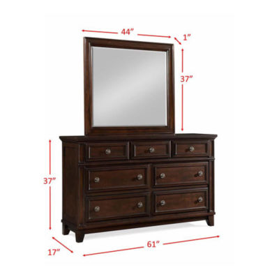 Picket House Furnishings Harland Dresser & Mirror Set