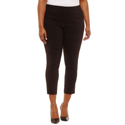 Alyx Slim Fit Ankle Pants - Plus