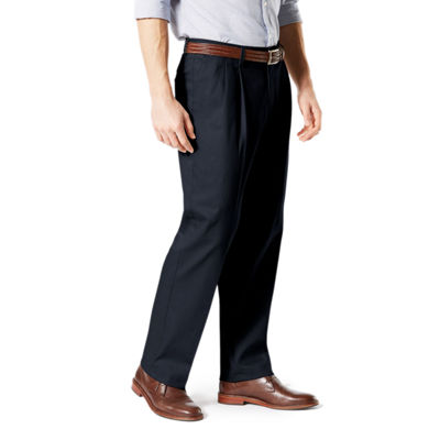Dockers® Big & Tall Classic Fit Signature Khaki Lux Cotton Stretch Pants - Pleated D3