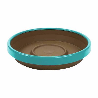 "Bloem Terra Two Tone Planter Saucer - 6.5"""